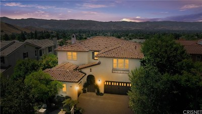Simi Valley Single Family Home For Sale: 4944 Shady Trail Street