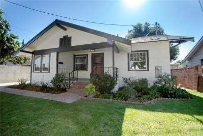 Single Family Home For Sale: 6566 Tyrone Avenue