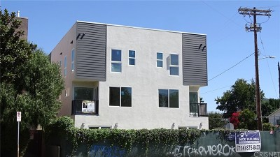 North Hollywood Condo/Townhouse For Sale: 5004 Cahuenga Boulevard