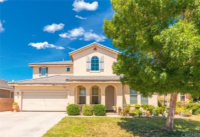 Palmdale Single Family Home For Sale: 40749 Knollwood Court