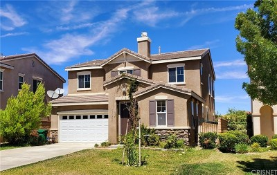 Palmdale Single Family Home For Sale: 2753 Hornbeam Road