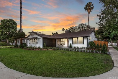 Sherman Oaks Single Family Home For Sale: 5120 Stansbury Avenue
