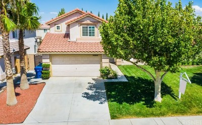 Palmdale Single Family Home For Sale: 36844 35th Street East