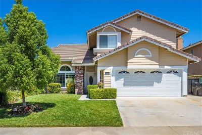 Saugus Single Family Home For Sale: 22715 Buckeye Court
