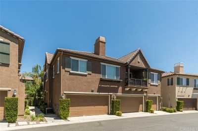 Saugus Condo/Townhouse For Sale: 28368 Santa Rosa Lane