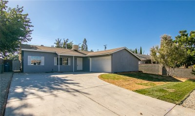 Palmdale Single Family Home For Sale: 38727 36th Street East
