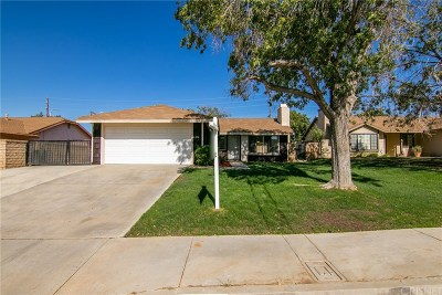 Palmdale Single Family Home For Sale: 37832 Birch Tree Lane
