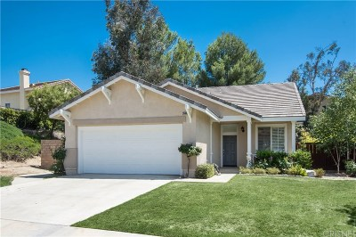 Canyon Country Single Family Home For Sale: 26809 Grommon Way