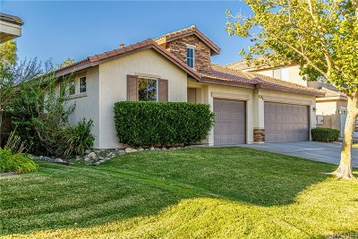 Palmdale Single Family Home For Sale: 3133 Club Rancho Drive