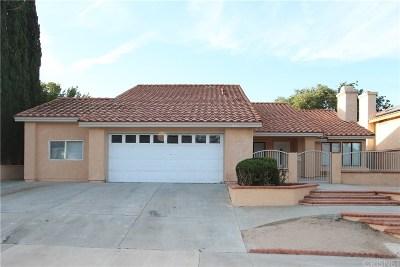 Palmdale Single Family Home For Sale: 331 Morningside