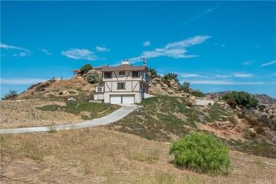 Simi Valley Single Family Home For Sale: 1295 Bella Vista Road