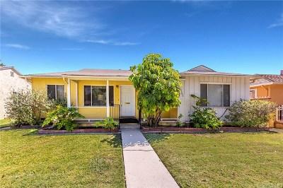 Reseda Single Family Home For Sale: 19508 Vanowen Street