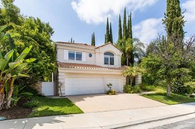 Calabasas Single Family Home For Sale: 4389 Park Blu