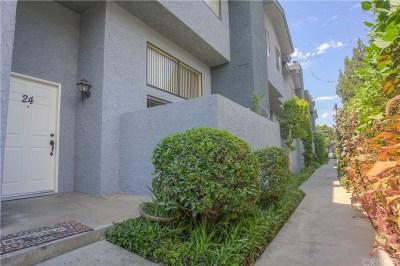 Panorama City Condo/Townhouse For Sale: 8806 Willis Avenue #24