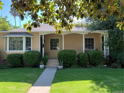Sherman Oaks Single Family Home For Sale: 4450 Stansbury Avenue
