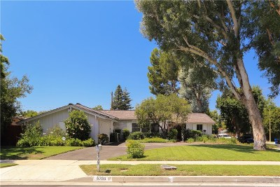 Woodland Hills CA Single Family Home For Sale: $995,000