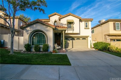 Saugus Single Family Home For Sale: 28698 Placerview