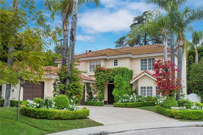 Encino Single Family Home For Sale: 17644 Royce Drive West