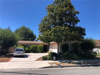 Calabasas Single Family Home For Sale: 26124 Roymor Drive