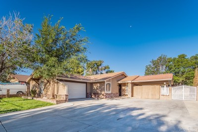 Palmdale Single Family Home For Sale: 37829 Sulphur Springs Road