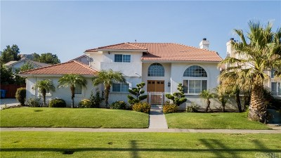 Chatsworth CA Single Family Home For Sale: $825,000