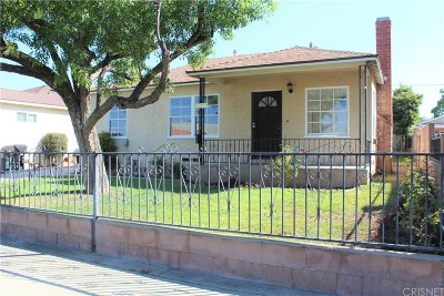 Los Angeles County Single Family Home For Sale: 11414 Rincon Avenue