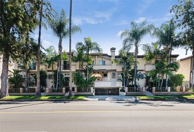 Sherman Oaks Condo/Townhouse For Sale: 4520 Fulton Avenue #3