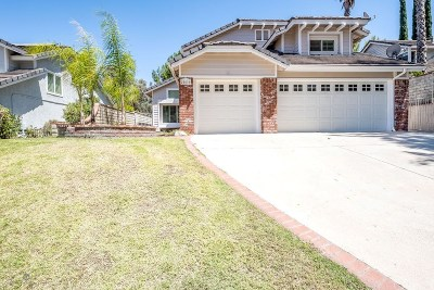 Castaic Single Family Home For Sale: 28616 Cloverleaf Place