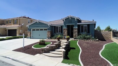 Palmdale Single Family Home For Sale: 40670 Oakbridge Way