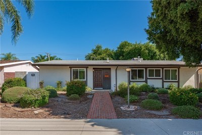 Los Angeles County Single Family Home For Sale: 20619 Parthenia Street