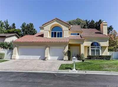 Santa Clarita, Canyon Country, Newhall, Saugus, Valencia, Castaic, Stevenson Ranch, Val Verde Single Family Home For Sale: 24624 Brittany Lane