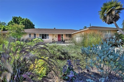 Los Angeles County Single Family Home For Sale: 16324 Meadowridge Road