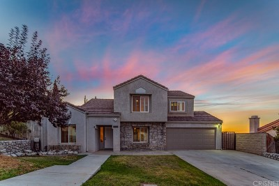 Los Angeles County Single Family Home For Sale: 38613 Mesquite Road