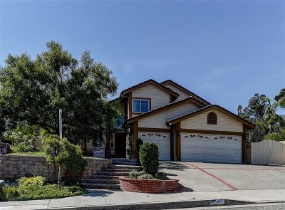 Santa Clarita, Canyon Country, Newhall, Saugus, Valencia, Castaic, Stevenson Ranch, Val Verde Single Family Home For Sale: 28055 Croco Place