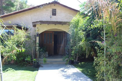 Castaic Single Family Home For Sale: 28869 Paradise Road