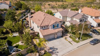 Santa Clarita, Canyon Country, Newhall, Saugus, Valencia, Castaic, Stevenson Ranch, Val Verde Single Family Home For Sale: 23965 Francisco Way