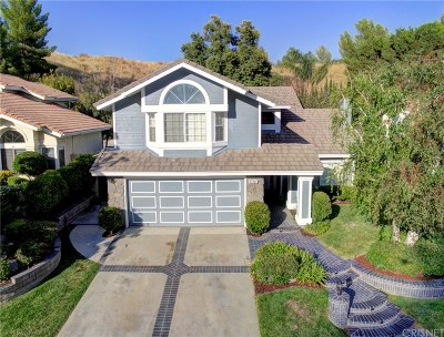 Santa Clarita, Canyon Country, Newhall, Saugus, Valencia, Castaic, Stevenson Ranch, Val Verde Single Family Home For Sale: 21821 Jeffers Lane