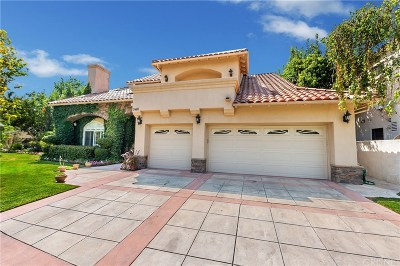 Newhall Single Family Home For Sale: 24611 Brittany Lane