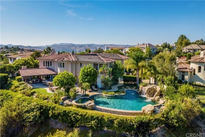 Calabasas CA Single Family Home For Sale: $3,599,000