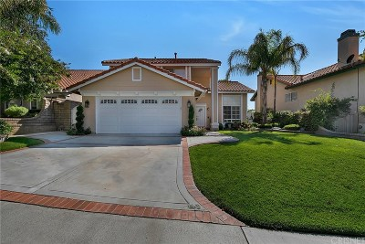 Saugus Single Family Home Active Under Contract: 20058 Terrace Court
