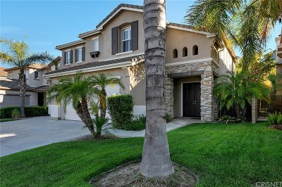 Stevenson Ranch Single Family Home Active Under Contract: 26416 Kipling Place