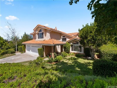 Calabasas CA Single Family Home For Sale: $1,759,000