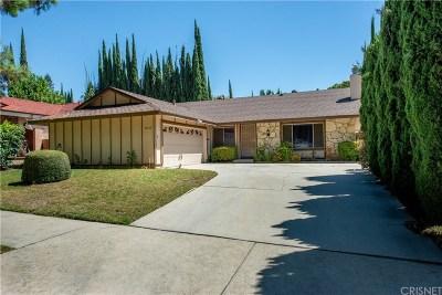 Northridge Single Family Home Active Under Contract: 10120 Yolanda Avenue