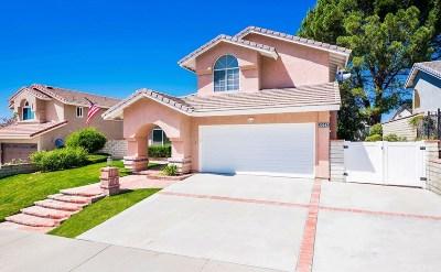 Saugus Single Family Home For Sale: 22443 Poplar Street