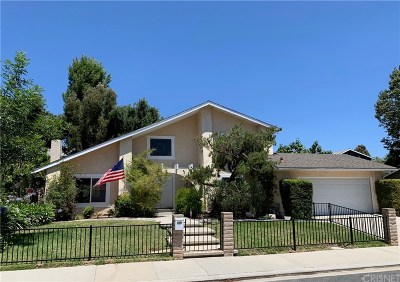 Agoura Hills Single Family Home Active Under Contract: 30623 Lakefront Drive