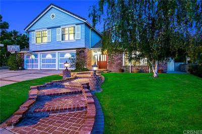 Agoura Hills Single Family Home Active Under Contract: 5724 Willowtree Drive