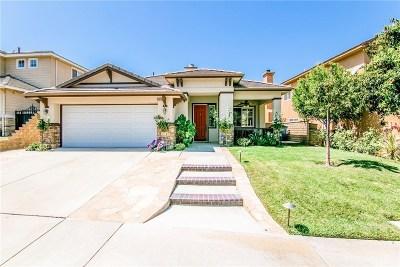Saugus Single Family Home For Sale: 21012 Cross Creek Drive