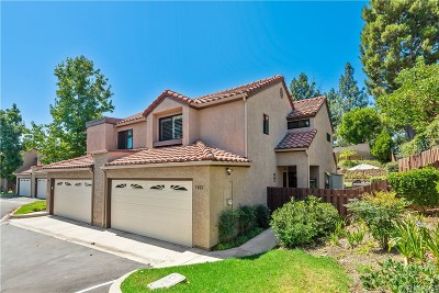 Simi Valley Condo/Townhouse For Sale: 5821 Cochran Street