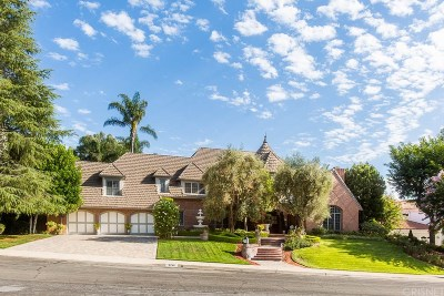 Calabasas CA Single Family Home For Sale: $2,450,000