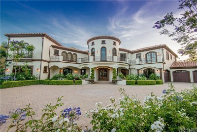 Agoura Hills Single Family Home For Sale: 29482 Malibu View Court